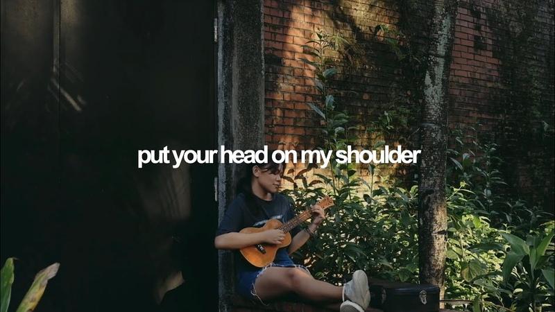 Put Your Head On My Shoulder Paul Anka ukulele cover Reneé Dominique