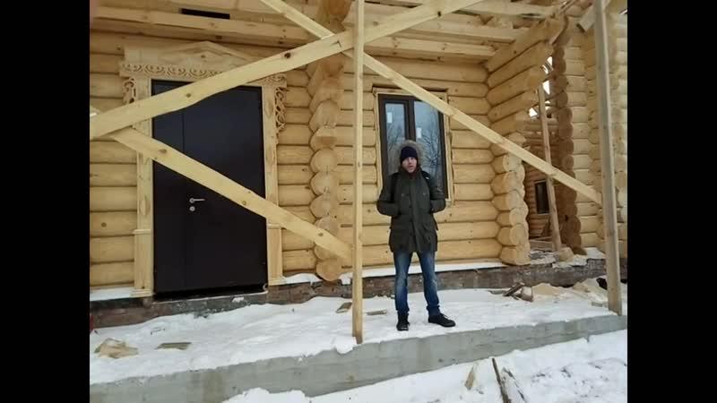 Колядо помогает строить русский дом. Приглашение Павла Галактионова