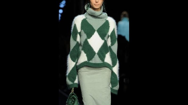 Вязание Спицами - Свитер, Пуловер, Джемпер - 2019 / Knit Knit Sweater Pullover Sweater