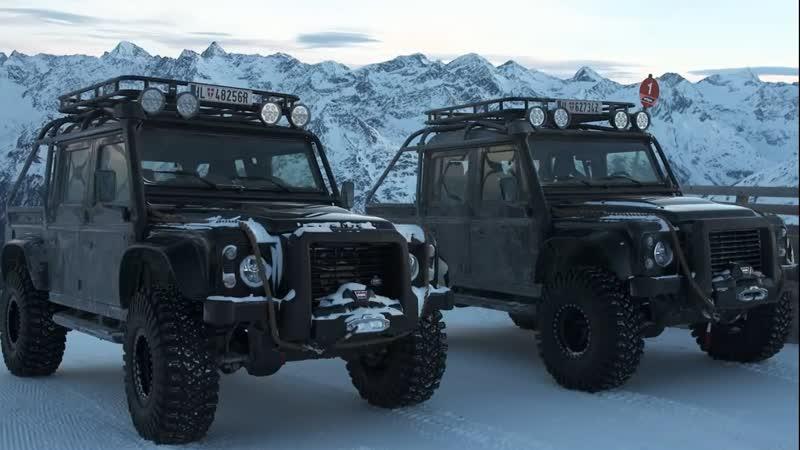 Land Rover Defender SVX Spectre 4x4 - внедорожник из фильма про Бонда