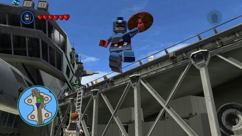 Капитан Америка против пародиста Painkiller LEGO Marvel сборник тестовых записей