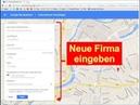 Firma in Google Business Maps eintragen registrieren