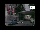 Savoy Hotel in 1960s London, HD from 35mm