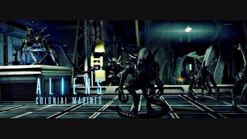 Aliens Colonial Marines Прерванный стазис Episode 1 Бедлам