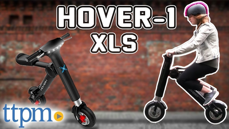 Hype Hover 1 XLS Folding Electric Scooter Unboxing Review from DGL Group