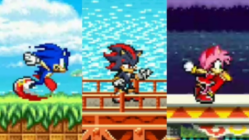 Sonic Advance Revamped ✪ Sonic Fan Games | Walkthrough 2019