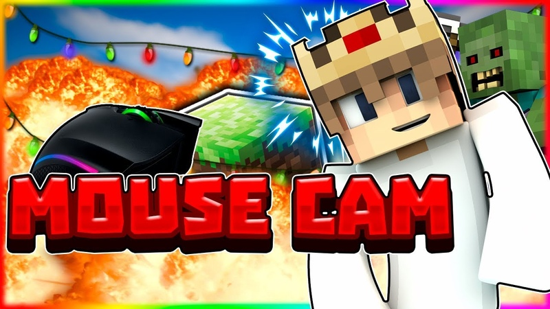 MOUSE CAM! ВЕБКА и MECHGAMER! МОЯ МЫШКА? [VimeWorld Sky Wars Mini-Game Minecraft]