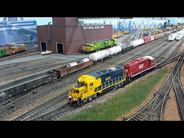 HO Scale RAW Action at the EnterpriseExcelsior Complex