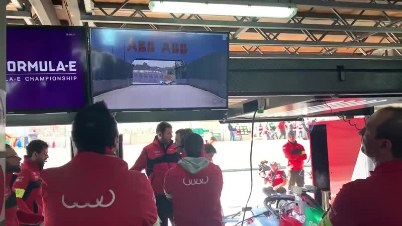 First shakedown of the year underway in Marrakesh OwnEverySecond ABBFormulaE FormulaE MarrakeshEPrix etron ProgressFeelsElectric