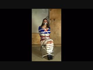 Megan-jones- supergirl bound & gagged