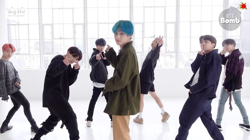 [BANGTAN BOMB] '작은 것들을 위한 시 (Boy With Luv)' Dance Practice (Eye contact ver.) - BTS (방탄소년단)