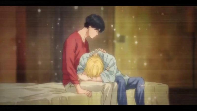 Всё,что я хочу- это хотя бы, ещё раз - почуствовать тепло руки | Ash and Eiji |