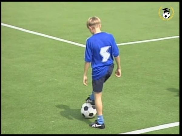 101 упражнение с мячом для юных футболистов
