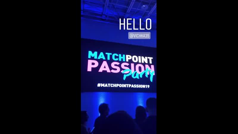 Victoria Azarenka at Match Point Passion Party