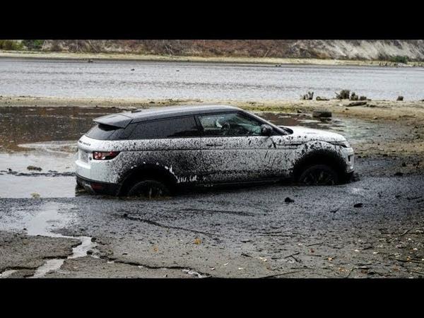 ЭТО БЫЛ НОВЫЙ LAND ROVER..... хорошо что есть Toyota Prado 150 monstax динамозенит спартак