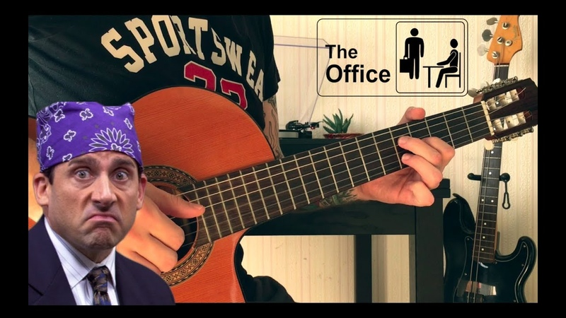 THE OFFICE OST Main Theme (fingerstyle tabs)