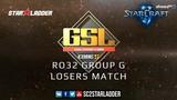 2019 GSL Season 1 Ro32 Group G Losers Match FanTaSy (T) vs Leenock (Z)