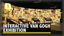 The Quint: Interactive Van Gogh Exhibition Launched in China