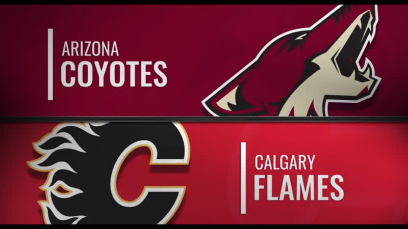 NHL Regular Season 2018-19 Arizona Coyotes-Calgary Flames
