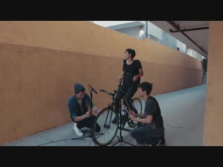 CHEAP THRILLS - SIA - Played on a BICYCLE - KHS Kina Grannis Cover