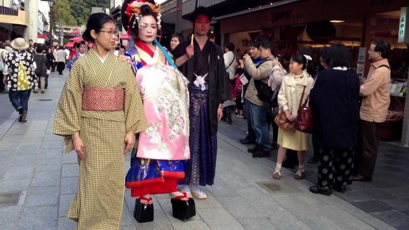 Geisha Walk in Dazaifu City