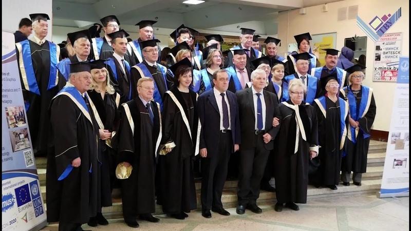 Большой репортаж Церемония награждения Docendo Discimus ВГУ имени П.М.Машерова