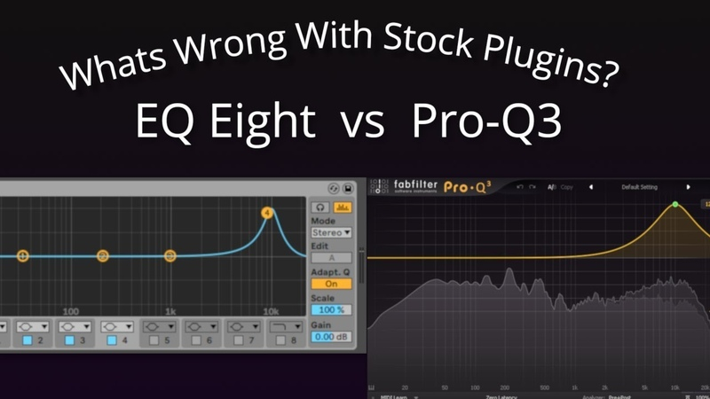 What's Wrong With Stock Plugins? Ableton Live EQ8 vs FabFilter Pro Q3