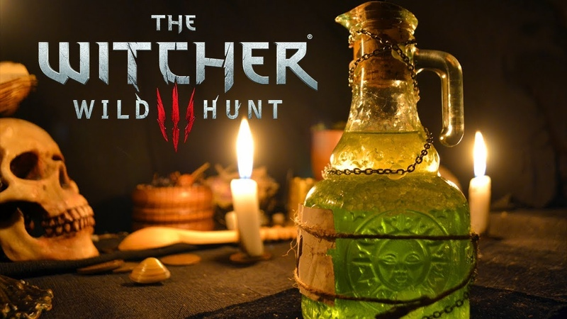 How to make oil from game The Witcher 3 Wild Hunt