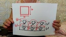 Вязание крючком для детей от О.С. Литвиной. Пледик Раковые шейки