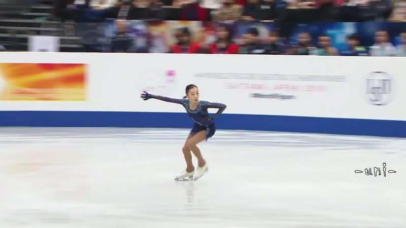 Elizabet Tursynbaeva, SP - Чемпионат мира - 2019