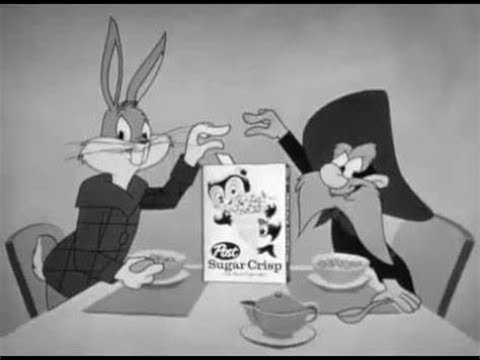 Some Vintage Commercials From The Bugs Bunny Show 1960s