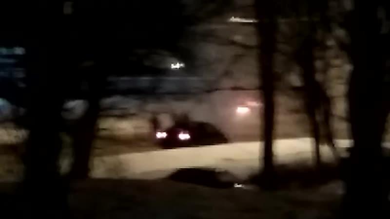 В Костроме загорелся пассажирский автобус