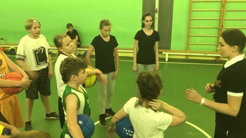 Баскетбольный центр Нагорная Светлана Латина