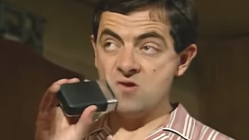 Mr Bean Close Shaves of Bean