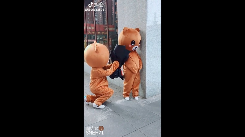 Top Funny Brown Bear and Kumamon in Tik TokDouyin