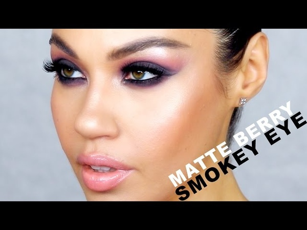 Matte Berry Smokey Eyes Dramatic Smokey Eye Makeup Tutorial Eman
