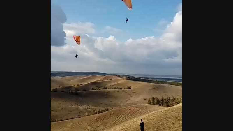 Полеты на Чатыр-тау