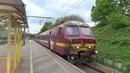 Varkensneus 835 vertrekt in Antwerpen Zuid
