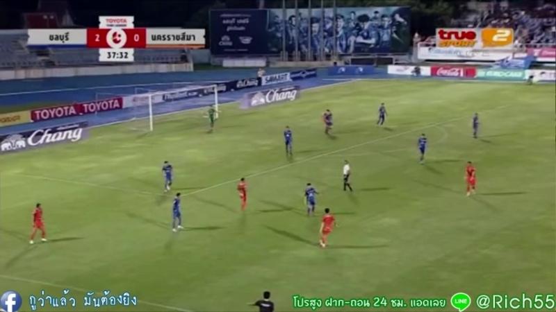 ชลบุรี เอฟซี -vs- นครราชสีมา มาสด้า เอฟ FULL