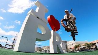 GoPro BMX: Mobbing The Streets of San Juan Puerto Rico