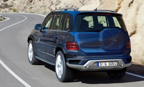 Новый Mercedes-AMG GLB 35 вышел на дорожные испытания.