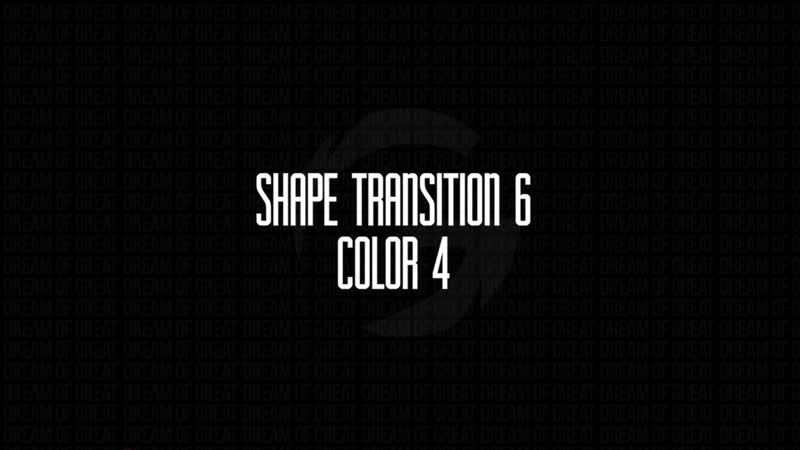 Shape Transition 6 Fast Motion