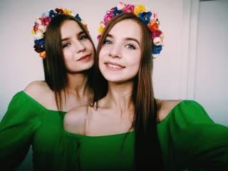 Rauf&Faik/Детство/Татьяна и Анастасия Громыко