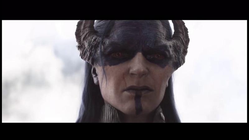 Чёрная Вдова и Окойе против Проксимы Миднайт Полночной Мстители Война Бесконечности 4K