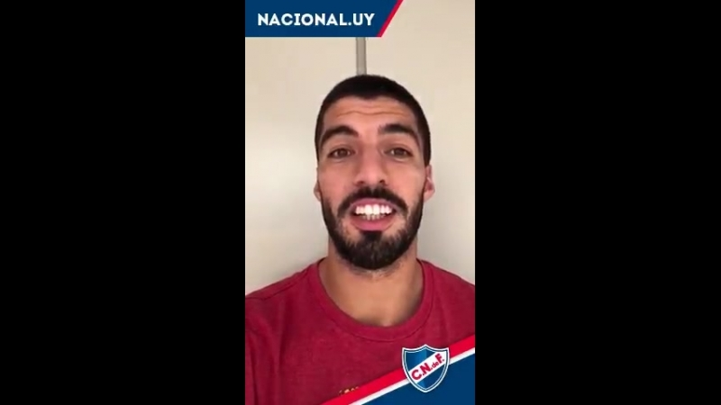@LuisSuarez9, ídolo de la CanteraInagotable, saluda a otra promesa tricolor, Mahia!