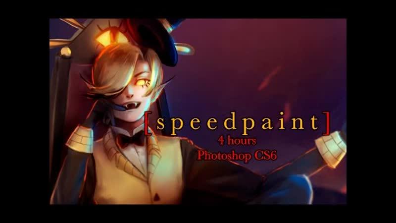 Bill Cipher - Speedpaint [Gravity Falls] -- The Sequel
