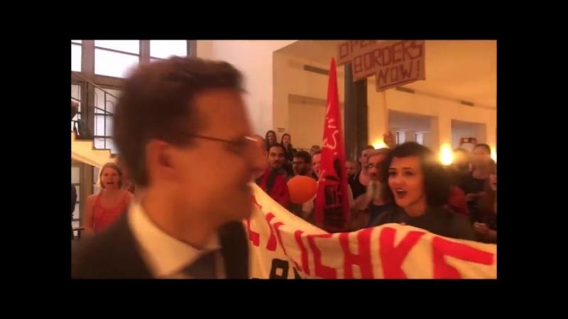 Tim Heilig - Linke fordern mehr Flüchtlinge für Deutschland Langsam reichts doch mal... _ Facebook [HD]