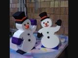 Снеговик + , Начали рубить капусту на снеговиках 8-905-548-48-68 8-906-757-28-00