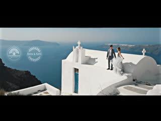 Ryan & Kate. Wedding. Santorini.