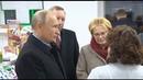 Путин в аптеке Путин Скворцова Беглов и заведующая аптекой Тайна их беседы на фоне непонятной старушки Главное что до сих пор ещё никто почему то не расшифровал в звуке разговора между Путиным Скворцовой и заведующей аптеки рекомендуемый процент
